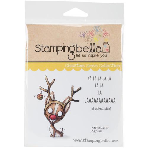Stamping Bella - Christine Grove NACHO-deer (CGR140)
