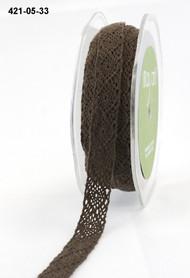 """May Arts - Crochet 1/2"""" - Brown"""