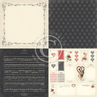 Pion Design - To My Valentine - 6 x 6 Forget Me Not (PD6903)