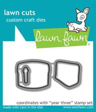 Lawn Fawn - Year Three Lawn Cuts (LF-1014)