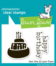 Lawn Fawn - Year One Stamp Set (LF-346)