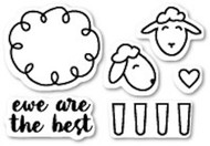 Poppystamps - Ewe Are The Best - Clear Stamp Set (CL424)