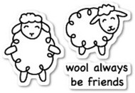 Poppystamps - Wool Be Friends - Clear Stamp Set (PS-CL423)
