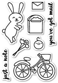 Poppystamps - Mail Delivery - Clear Stamp Set (PS-CL421)