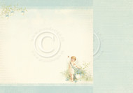 Pion Design - Easter Greetings - 12 X 12 Angel of spring