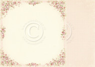Pion Design - Easter Greetings - 12 X 12 Cherry blossom