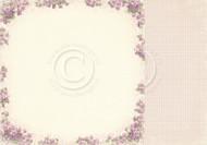 Pion Design - Easter Greetings - 12 X 12 Violet