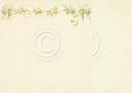 Pion Design - Easter Greetings - 12 X 12 Daffodil