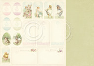 Pion Design - Easter Greetings - 12 X 12 Tags