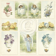 Pion Design - Easter Greetings - 12 X 12 Complete Collection