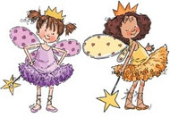 Mo Manning FAIRY PRINCESSES Rubber Stamp