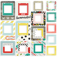 Simple Stories - Life in Color - Chipboard Frames (SS-5038)