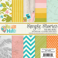 Simple Stories - You Are Here! - 6x6 Paper Pad (SS-6222)