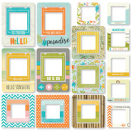 Simple Stories - You Are Here! - Chipboard Frames (SS-6238)