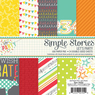 Simple Stories - Let's Party - 6x6 Paper Pad (SS-5322)