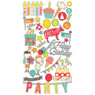 Simple Stories - Let's Party - 6x12 Chipboard (SS-5328)