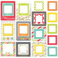 Simple Stories - Let's Party - Chipboard Frames (SS-5338)