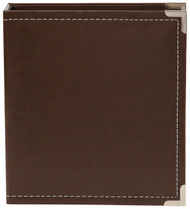 Simple Stories - 6x8 SN@P! Faux Leather Album - Brown (SS-4040)