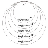 Simple Stories - Circle Photo Crops (SS-4079)