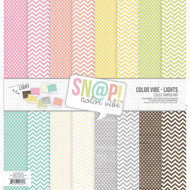Simple Stories - SN@P! Color Vibe Lights - Paper Pack (SS-7060)
