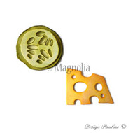 Magnolia Stamps DooHickey - Little Italy Cheese & Cucumber 1
