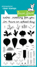Lawn Fawn - Rooting For You Stamp Set (LF-1040)