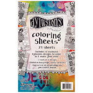 Ranger -Dyan Reaveley - Dylusions Coloring Sheets