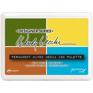 Ranger -Wendy Vecchi Permanent Mixed Media Ink Palette