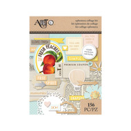 ArtC Ephemera Collage Kit - Everyday 156 pc (25065)