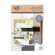 ArtC Ephemera Collage Kit - Family 105 pc (24297)