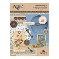 ArtC Ephemera Collage Kit - Victorian 117 pc (25068)