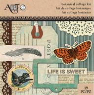 ArtC Ephemera Collage Kit - Botanical Small Kit