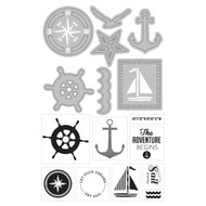 ArtC Stamp & Die Combo - Nautical (25893)