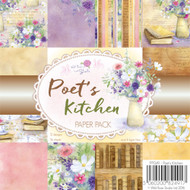Wild Rose Studio Clear Stamp - 6 x 6 Paper Pad Poet's Kitchen
