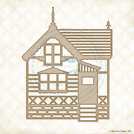 Blue Fern Studios - Chipboard - Home Sweet Home