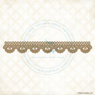 Blue Fern Studios - Chipboard - Scalloped Border
