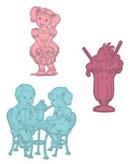 Heartfelt Creations Berry Cafe - Berry Cafe Die (HCD1-794)