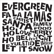 The Crafters Workshop 6 x 6 Stencil - Christmas Words (TCW590)