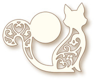 Wild Rose Studio Cutting Die - Cat and Moon (SD070)