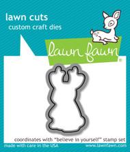 Lawn Fawn - Believe In Yourself Lawn Cuts (LF-1043)