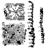 The Crafters Workshop 6 x 6 Stencil - Tattered Lace (TCW490)