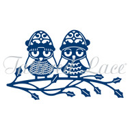 Tattered Lace Die (D0871) Christmas Owls