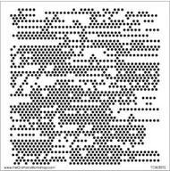 The Crafters Workshop 6 x 6 Stencil - Tiny Circles (TCW361)