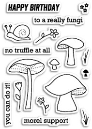 Poppystamps - No Truffle At All - Clear Stamp Set (PS-CL430)