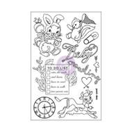 Prima Marketing - 4x6 Cling Stamps - Heaven Sent (PM-587529)
