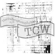 The Crafters Workshop 6 x 6 Stencil - Sketch Grid (TCW456)