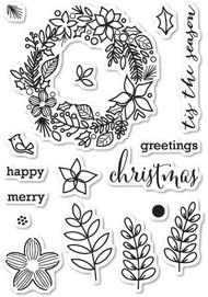 MB-CL5187 Christmas Botanicals