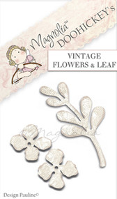 Magnolia Stamps DooHickey - Your Are So Special - Vintage Flowers & Leaf