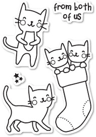 Poppystamps - Cat Friends - Clear Stamp Set (PS-CL433)