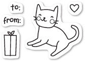 Poppystamps - Kitty Cat- Clear Stamp Set (PS-CL437)